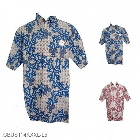 Baju Batik Sarimbit Motif Batik Ceker Ayam XXL-L5