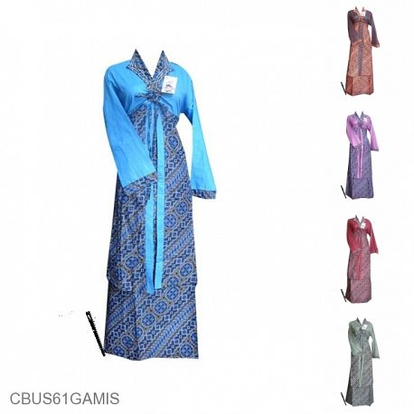 Baju Batik Sarimbit Motif Liris Etnik