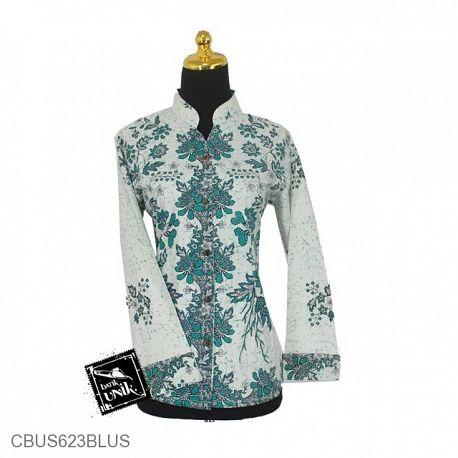 Baju Batik Sarimbit Blus Motif Mawar Melati