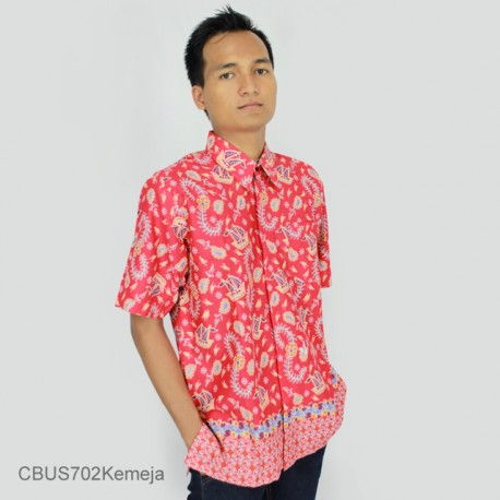 Baju Batik Sarimbit Kemeja Motif Kapal