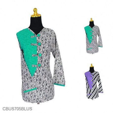 Baju Batik Sarimbit Blus Motif Parang