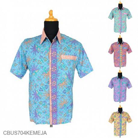 Baju Batik Sarimbit Kemeja Motif Godhong Tumpal