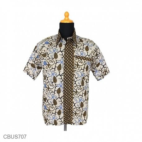 Baju Batik Sarimbit Kemeja Katun Motif Sothong