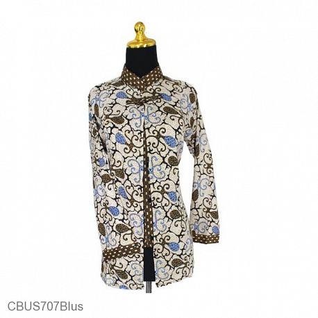 Baju Batik Sarimbit Blus Katun Motif Sothong
