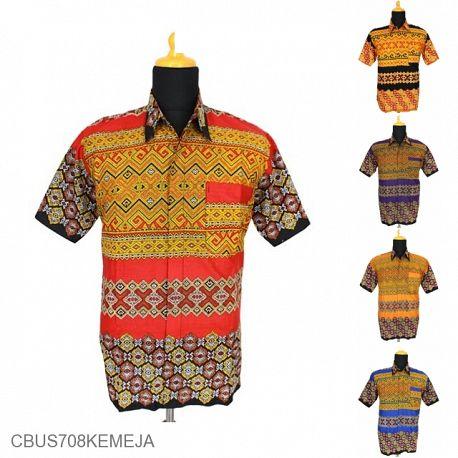 Baju Batik Sarimbit Kemeja Motif Tenun
