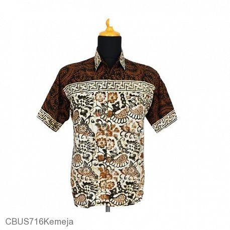 Baju Batik Sarimbit Kemeja Motif Bunga Truntum