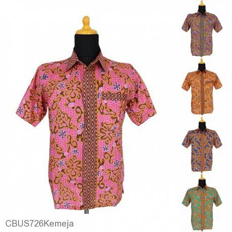 Baju Batik Sarimbit Kemeja Motif Abstrak