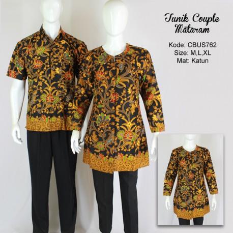 Baju Batik Sarimbit Blus Motif Mataraman