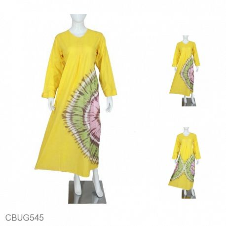 Baju Muslim Gamis Katun Valerie