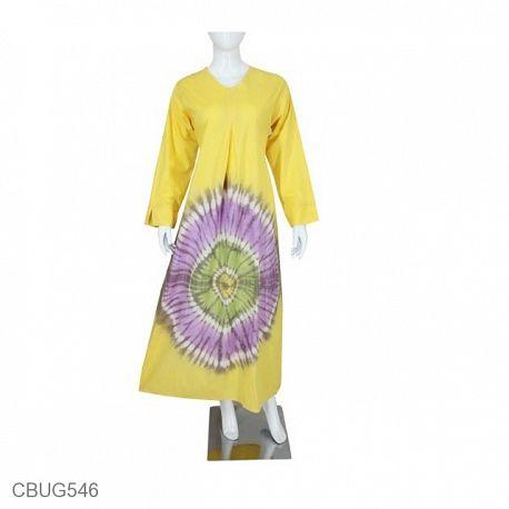 Baju Muslim Gamis Katun Syahira