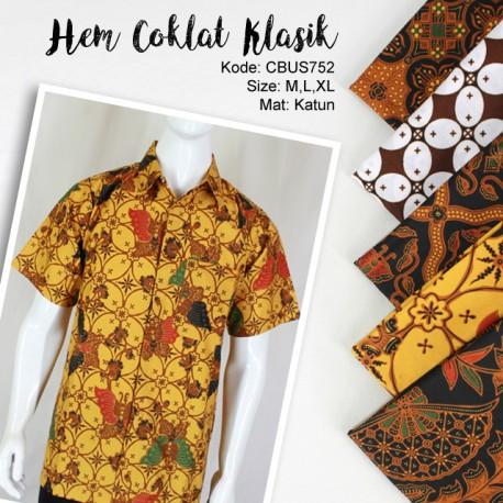 Baju Sarimbit Kemeja Motif Klasik