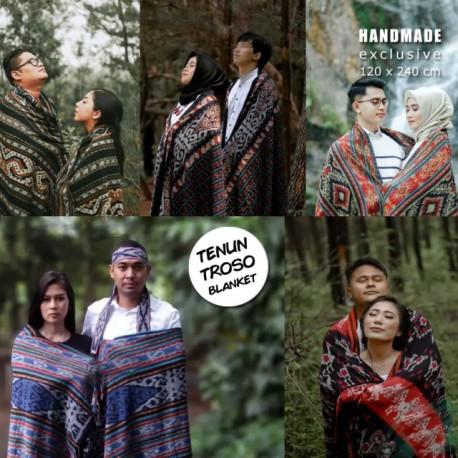 Blanket Tenun Troso Jepara