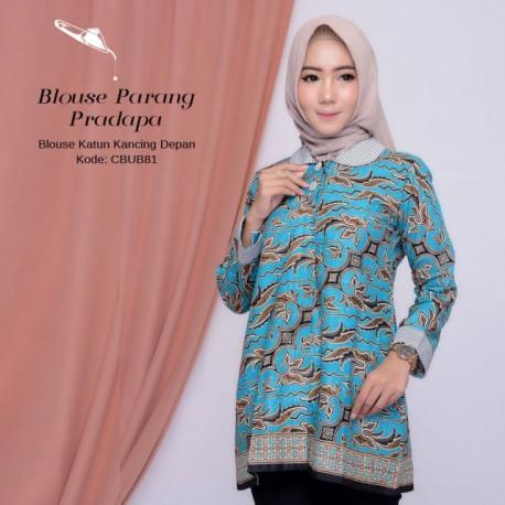 Blouse Batik Katun Parang Pradopo