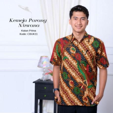 Kemeja Batik Parang Nirwana