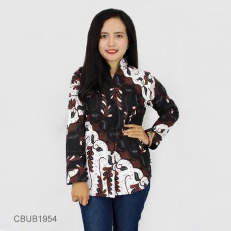 Blus Batik Panjang Motif Parang Godhong