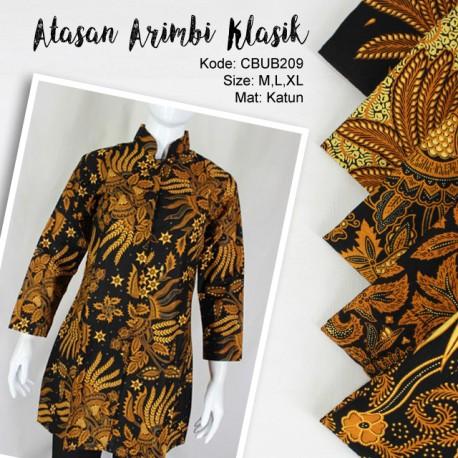 Blus Batik Panjang Arimbi Klasik