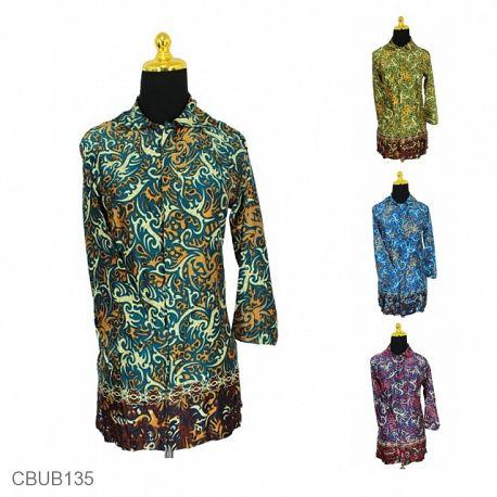 Blus Panajng Sunwash Motif Ukir