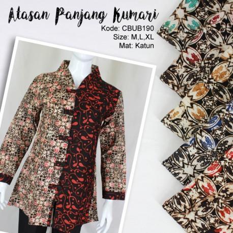 Blus Panjang Kumari Kawung Abstrak