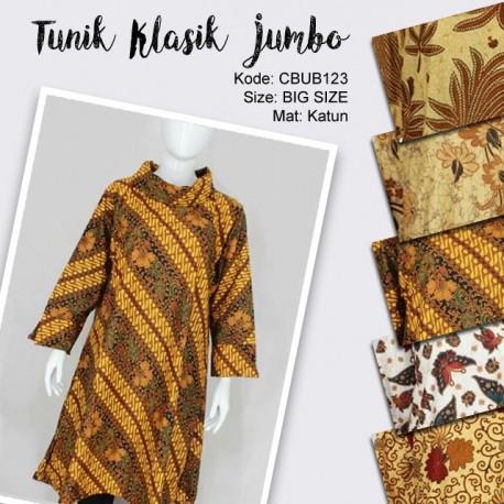 Blus Tunik Klasik Kamaratih Jumbo
