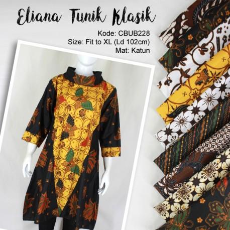 Blus Tunik Klasik Eliana