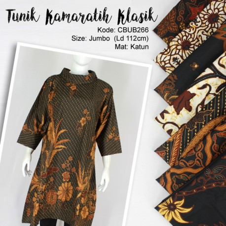 Dress Tunik Batik Kamaratih