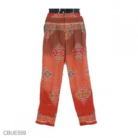 Celana Aladin Etnik Motif Songket