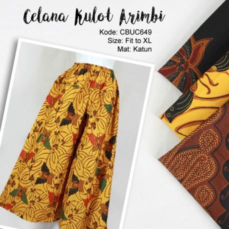 Celana Kulot Arimbi Klasik 4