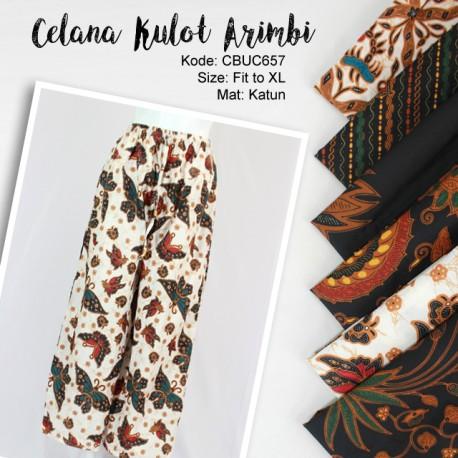 Celana Kulot Arimbi Klasik 6