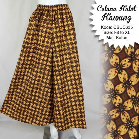 Celana Kulot Kawung Klasik