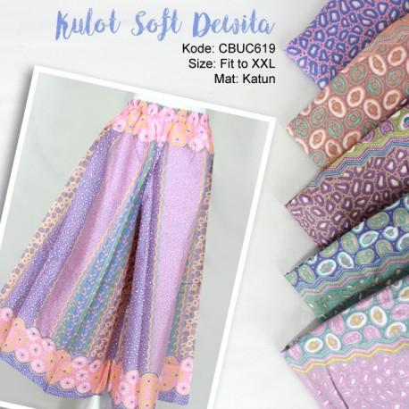 Celana Kulot Soft Dewita