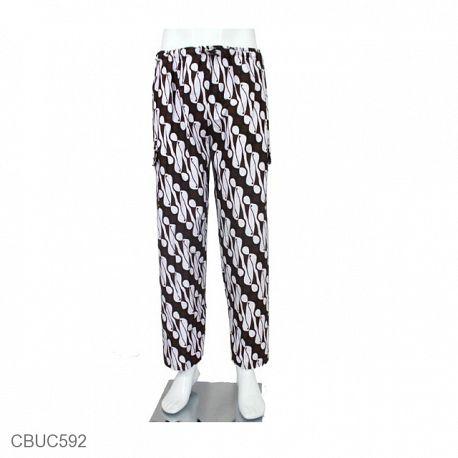 Celana Panjang Jumbo Katun Motif Klasik