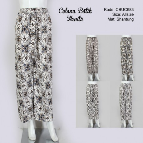 Celana Panjang Wanita Klasik Kotemporer
