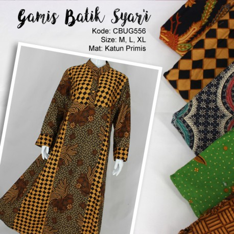 Comfy Syari Dress Batik