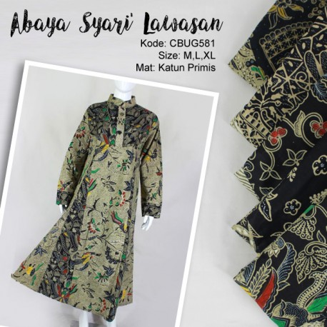 Comfy Syari Dress Batik Lawasan