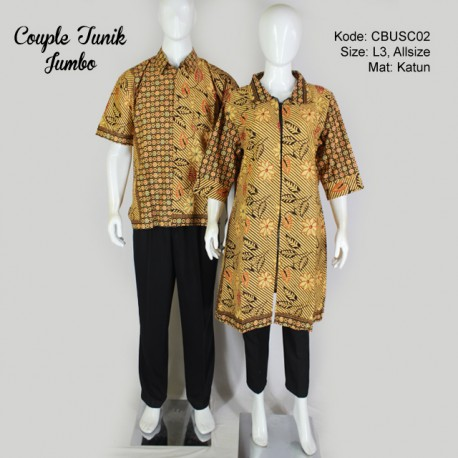 Couple Hem Tunik Etnik Liris 1