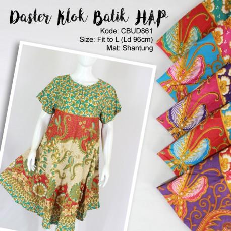 Daster Klok Batik HAP Bunga