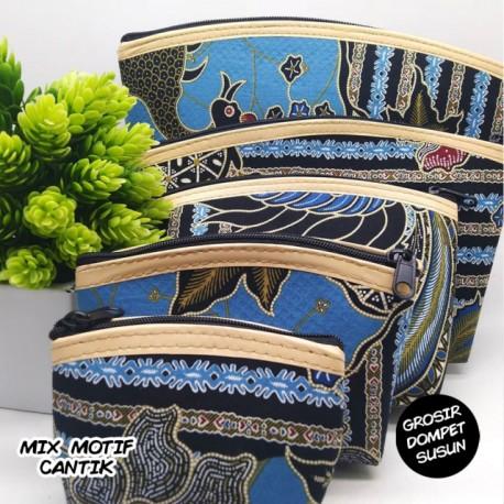 Dompet Susun 5 Batik Etnik Grosir (1 Kodi)