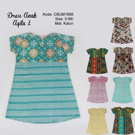 Dress Anak Aqila Kotemporer 2