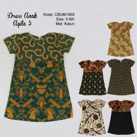 Dress Anak Aqila Kotemporer 3