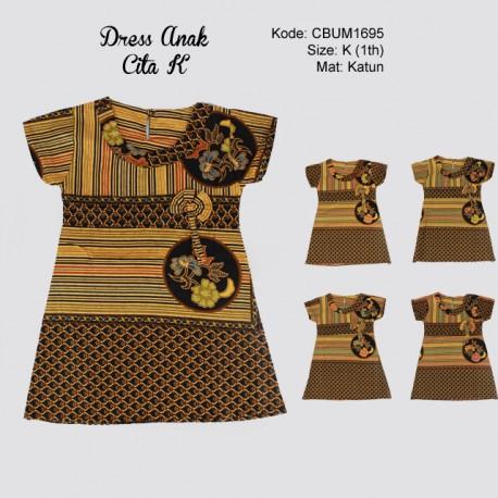 Dress Anak Cita Etnik K