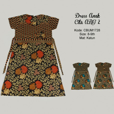 Dress Anak Cita Etnik ABG 2
