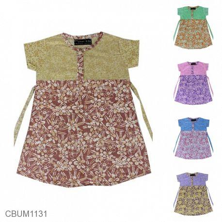 Dress Anak Clara Motif Bunga