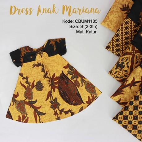 Dress Anak Kamira Motif Klasik Size S