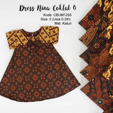 Dress Anak Nina Motif Klasik 0