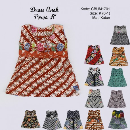 Dress Anak Perca Kotemporer K