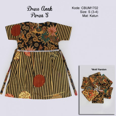 Dress Anak Perca Kotemporer S