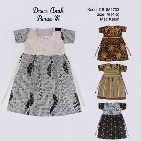 Dress Anak Perca Kotemporer M