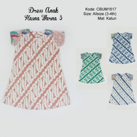Dress Anak Tiara Warna 3