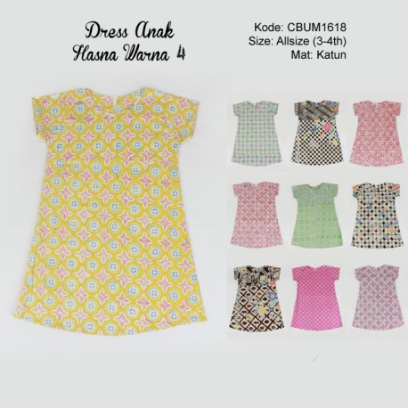 Dress Anak Tiara Warna 4
