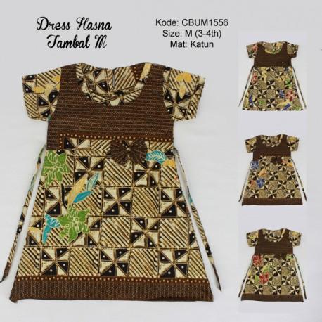 Dress Batik Anak Hasna Motif Tambal M